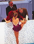 1994 TANYA HARDING PLEADS WITH JUDGES LILLEHAMMER OLYMPICS