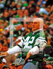 Well known New York Jets fan,'fireman Ed' Anzalone