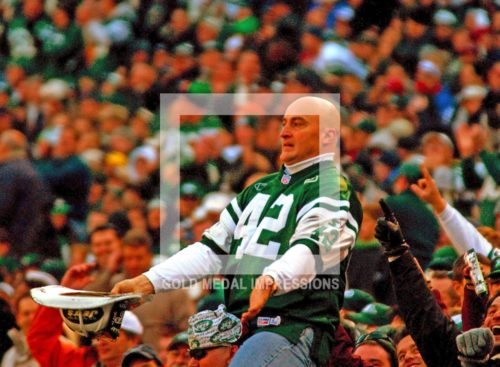 Well known New York Jets fan,'fireman Ed' Anzalone