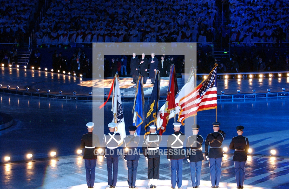 Opening Ceremony At The 2002 Salt Lake City Olympics
