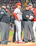 Cardinals Mike Matheny & Sox John Farrell