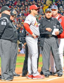 Cardinals Mike Matheny & Sox John Farrell