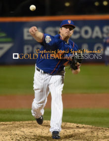 New York Mets relief pitcher ADDISON REED gives up 3 runs