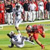 Rutgers defense sacks Penn State QB Christian Hackenberg