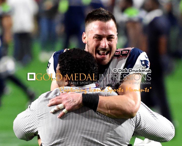 Danny Amendola Hugs Coach After Winning Super Bowl Xlix