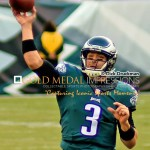Philadelphia Eagles quarterback, MARK SANCHEZ, throws touchdown pass to tight end JAMES CASEY in the third quarter against the Tennessee Titans. Sanchez threw for 307 yards 1 touchdown and two interceptions, leading the Eagles to a 43-24 victory.