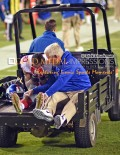 New York Giants wide receiver, VICTOR CRUZ, is transported to the hospital with a torn patellar tendon which occurred while attempting to catch a touchdown pass early in the third quarter against the Philadelphia Eagles. It is likely that he will be out for the rest of the season.