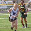 WWP NORTH LACROSSE STAR CARLI HARPEL SCORES THE FIRST OF THREE GOALS AGAINST WWP SOUTH. WWP NORTH DEFEATED SOUTH 16-4