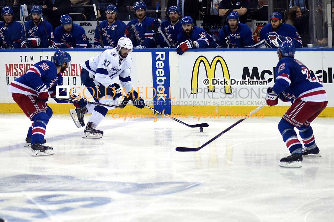 ALEX KILLORN Lightning Center Goes In For A Score In The Third Game 7 G