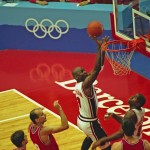 Charles Barkley was the team scoring leader but it was Jordan who led the U.S. in the games against the harder rival and silver medallist Croatia. He scored 21 points in the first round game and 22 in the gold medal contest. MJ also leaded the tournament with 37 steals.