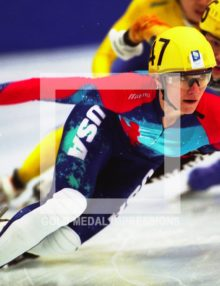 1994 KATHY TURNER SPEED SKATING GOLD LILLEHAMMER OLYMPICS