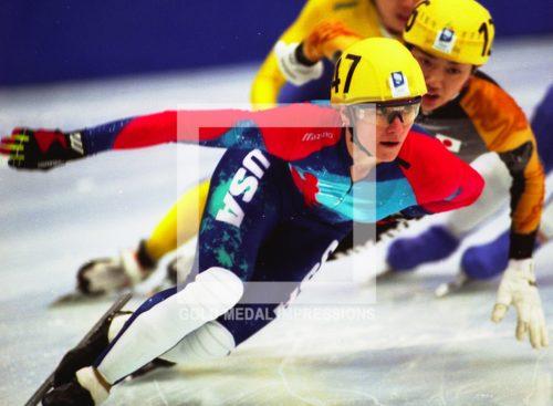 1994 KATHY TURNER SPEED SKATING GOLD LILLEHAMMER OLYMPICS