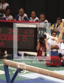 1996 DOMINIQUE MOCEANU WINS GOLD ATLANTA OLYMPICS