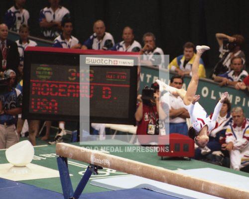 1996 DOMINIQUE MOCEANU WINS GOLD ATLANTA OLYMPICS