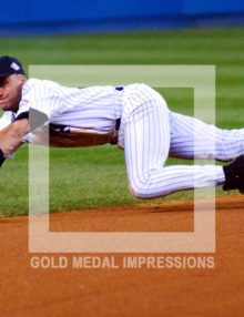 2003 DEREK JETER MAKES GREAT PLAY VS RED SOX