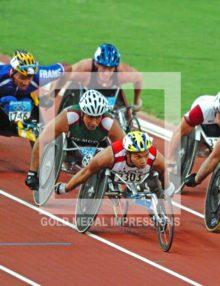 2004 WHEELCHAIR HEROS ATHENS OLYMPICS