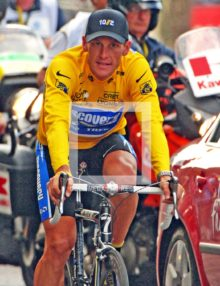 2005 LANCE ARMSTRONG WINS 7TH CONSECUTIVE TOUR de FRANCE