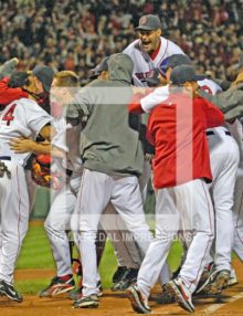 2007 RED SOX WIN WORLD SERIES