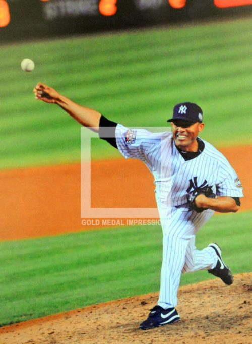 2009 MARIANO RIVERA LAST PITCH OF THE WORLD SERIES