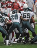 203 BRIAN DAWKINS LAST GAME AS AN EAGLE 2009
