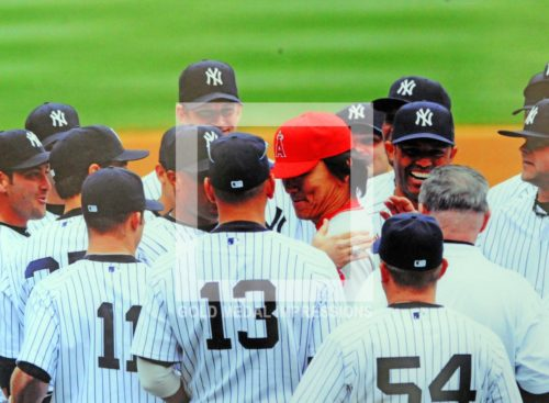 2010 HIDECKI MATSUI GETS WORLD SERIES RING WITH NEW YORK YANKEES