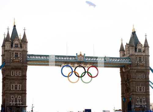 LONDON BRIDGE LONDON OLYMPICS