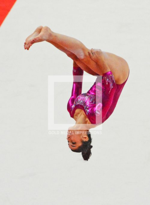 ALI RAISMAN FLIPS LONDON OLYMPICS