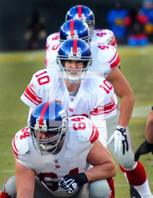 ELI MANNING I FORMATION VS GREEN BAY PACKERS