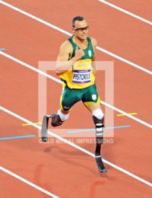 2012 INFAMOUS OSCAR PISTORIUS AT LONDON OLYMPICS