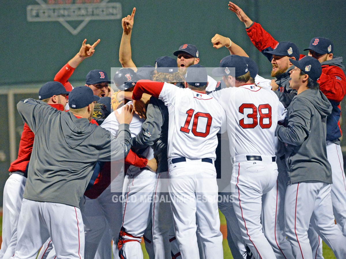 The Boston Red Sox Win The 2013 World Series Gold Medal