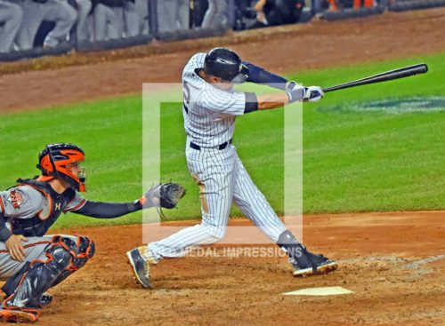 In storybook fashion, New York Yankees captain, Derek Jeter, hits a walk-off single in his final time at bat at Yankee Stadium against the Baltimore Orioles. Derek went 2 for 5 driving in 3 of the Yankees 6 runs giving them a 6-5 fairy tale victory.