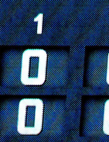 New York Mets CityFIELD scoreboard showing that the Mets scored 12 runs in the third inning against the SanFrancisco Giants--- a franchise record. The Mets went on to wiiin 13-1.