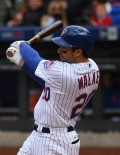 In his first home game with the Mets after being acquired from Pittsburgh, NEIL WALKER, hits a tiebreaking single in the sixth inning. WALKER went 2 for 4, driving in 2 runs and leading the Mets to a 7-2 home opener victory.