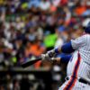 New York Mets WILMER FLORES his second of 2 home runs