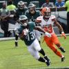 Philadelphia Eagles running back DARREN SPROLES returns punt