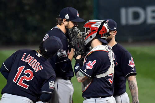 Cleveland Indians ace reliever ANDREW MILLER