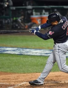 Cleveland Indians pinch hitter COCO CRISP