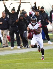 Atlanta Falcons TAYLOR GABRIEL 76 yard touchdown