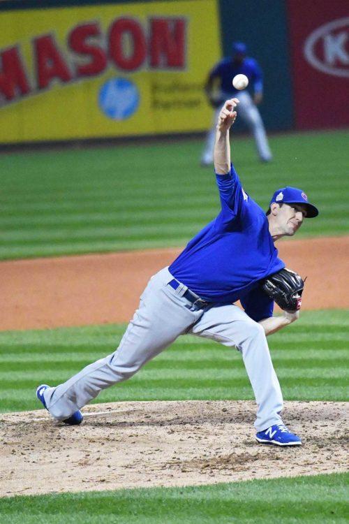 Chicago Cubs starting pitcher KYLE HENDRICKS