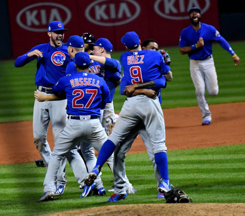 Chicago Cubs World Series Champs At Last