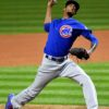 Chicago Cubs relief pitcher CARL EDWARDS JR