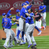 Chicago Cubs celebrate winning their first World Series Championship in 108 years