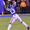 Giants ODELL BECKHAM JR. makes one of his patented one-handed catches