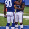 Giants wide receivers VICTOR CRUZ and ODELL BECKHAM JR. share thoughts