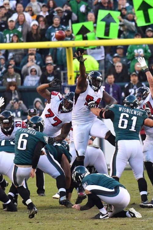 Eagles CALEB STURGIS clinches game with a 48 yard field goal