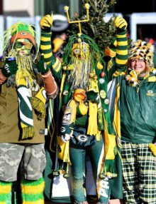 Avid Green Bay Packer fans from Seymour Wisconsin