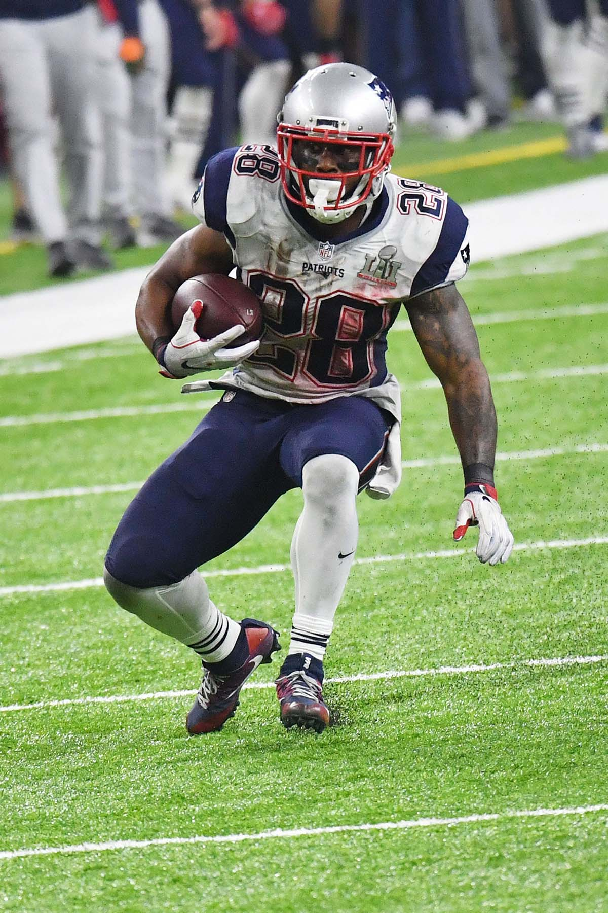 New England Patriots running back James White critical reception - Gold  Medal Impressions d5e684a58
