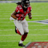 Devonta Freeman scores the first touchdown of the game