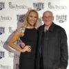 Dick Druckman and Miss America at Super Bowl LI