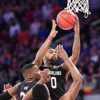 South Carolina guard, SINDARIUS THORNWELL, scores in the first half